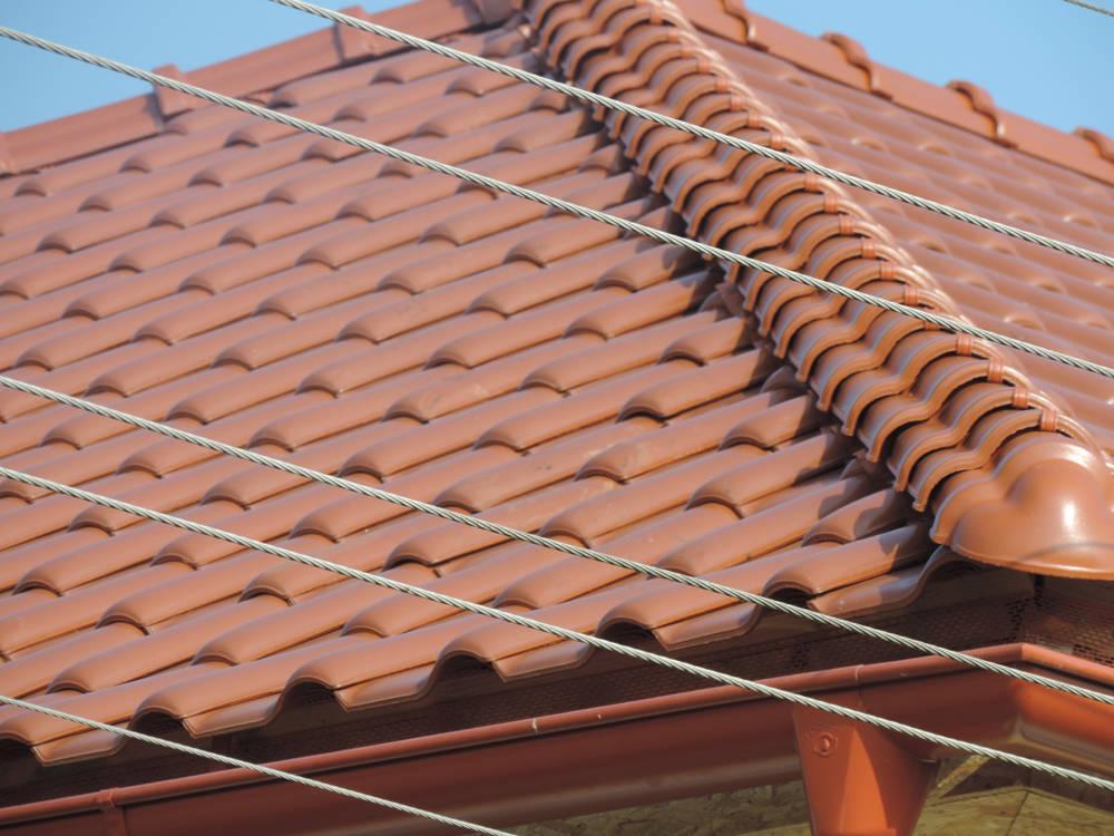 Keramická strešná krytina Röben monza plus medená engoba - realizácia strechy detail