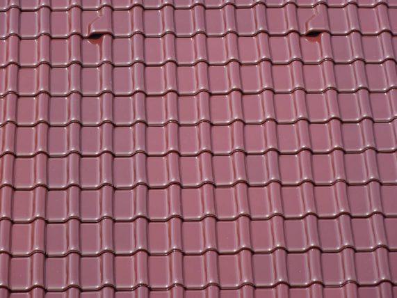 Keramická strešná krytina Röben monza plus trentino glazúra - realizácia strechy detail