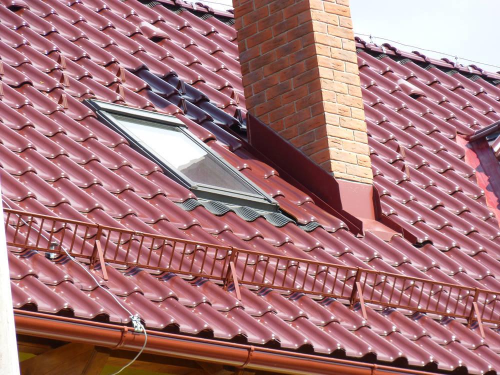 Keramická strešná krytina Röben monza plus trentino glazúra - realizácia strechy strešné okno
