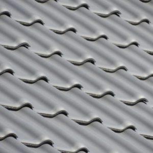 Keramická strešná krytina Röben piemont antracitová engoba - realizácia strechy detail