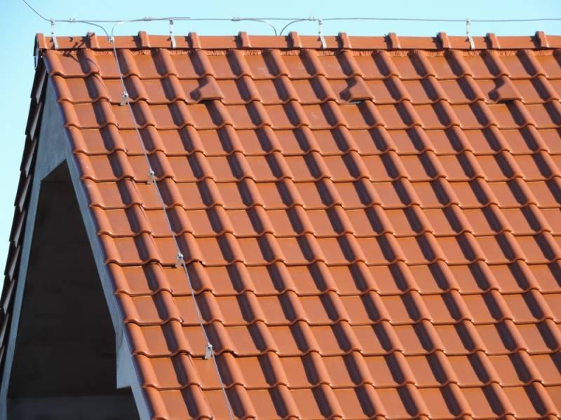 Keramická strešná krytina Röben piemont medená - realizácia strechy