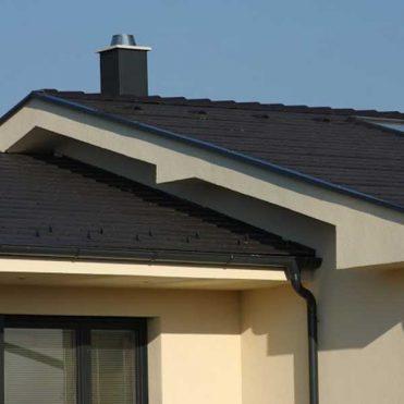 Moderná betónová škridla Terran Zenit Carbon