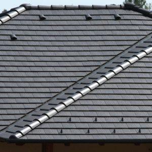 Strecha s betónovou strešnou krytinou Terran Zenit EVO Bridlica